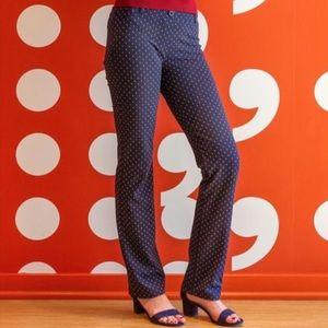 Betabrand Dress/Yoga Pant Navy Straight S Long